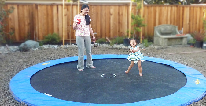What Are The Health Benefits Of An In-Ground Trampoline?