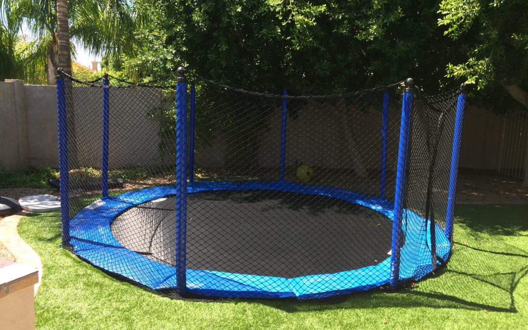 3 In-Ground Trampoline Safety Tips