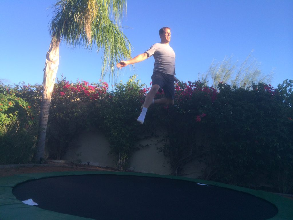 3 reasons to use a trampoline