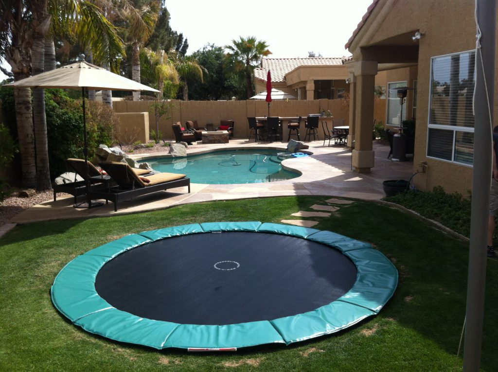 Why Get An Inground Trampoline