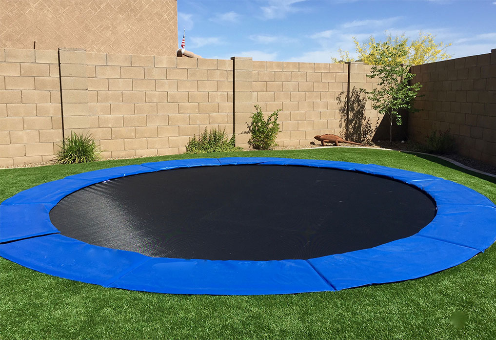 Check the inground trampoline springs