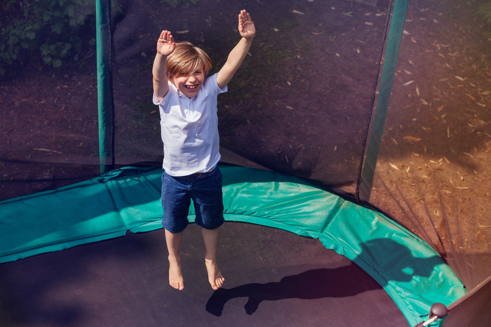 Why You Should Jump Barefoot On A Trampoline