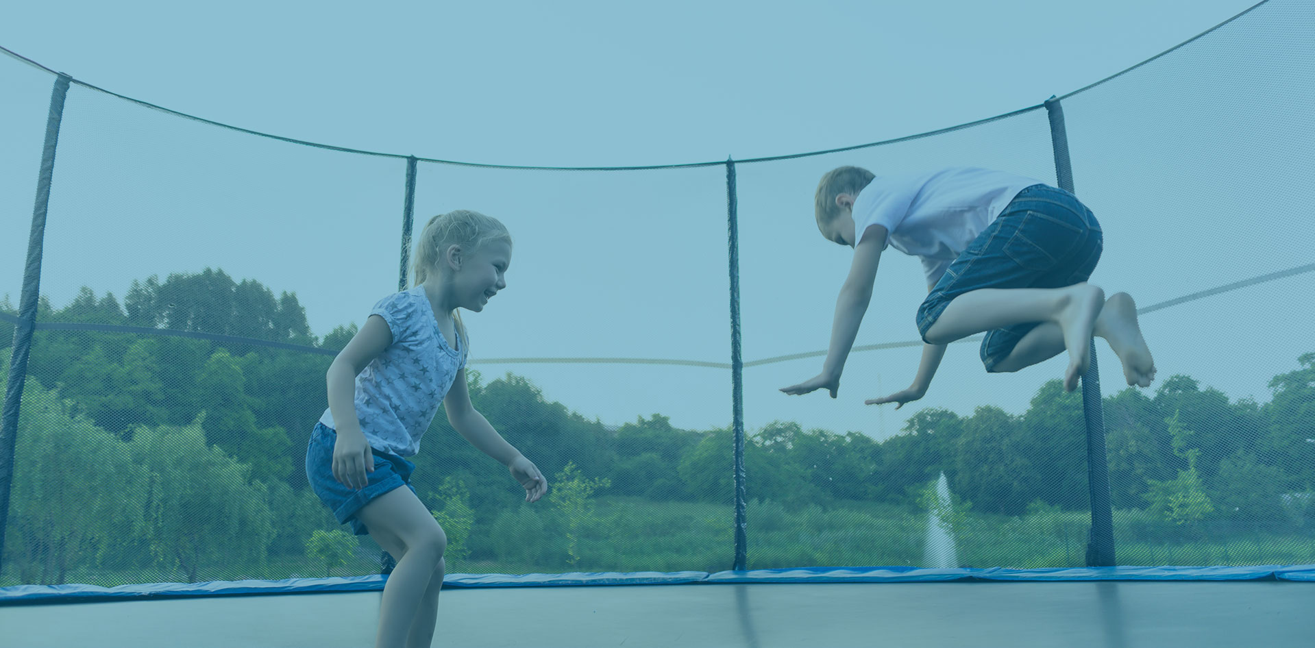 Five Fun Things To Do On A Trampoline