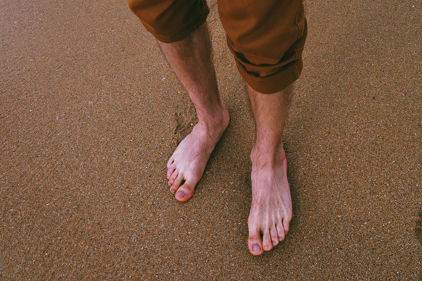 reasons to go barefoot