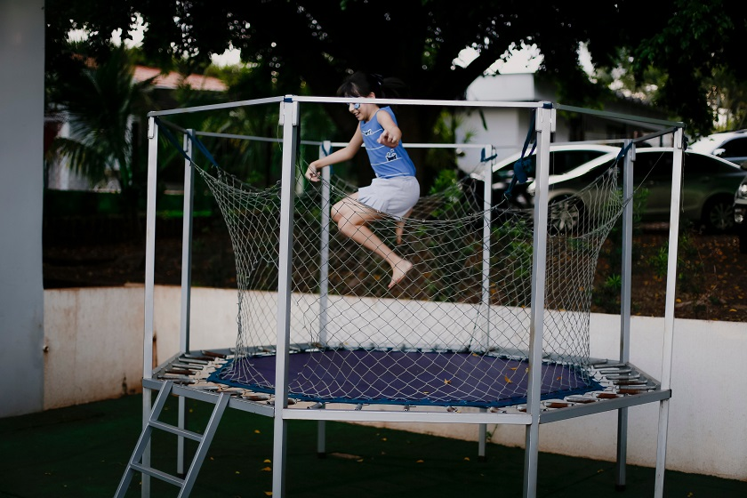 Ease Into Workouts On A Trampoline After An Injury