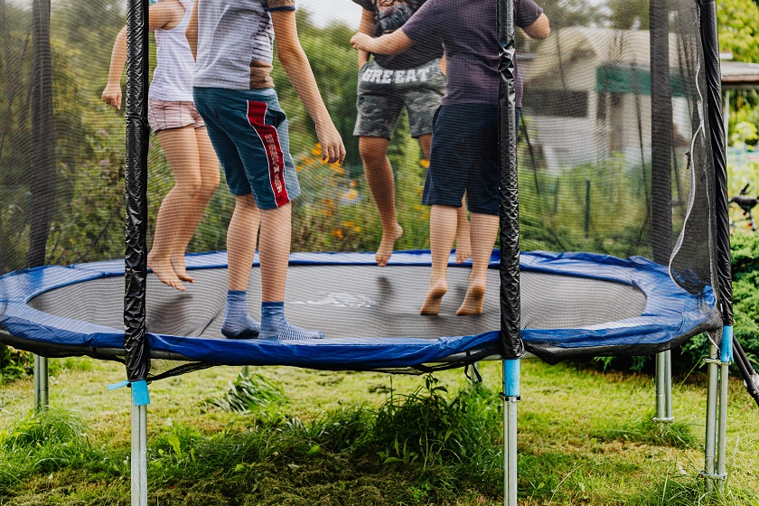 Holiday gifts for trampoline owners
