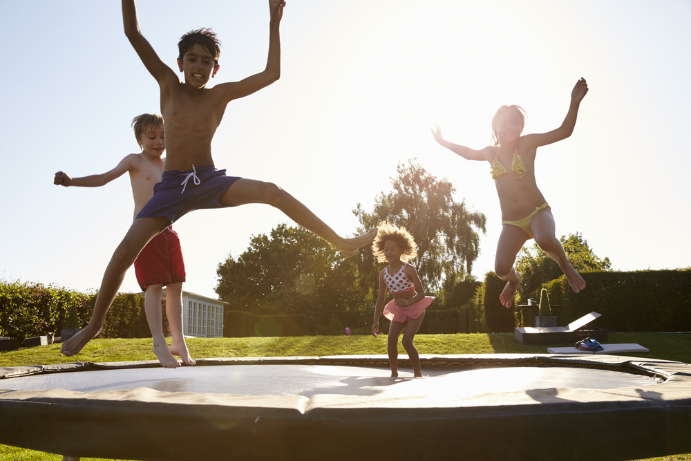 Why Kids Like In-Ground Trampolines Best